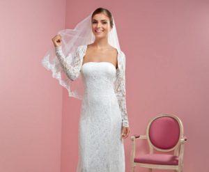 robe de mariee avec voile